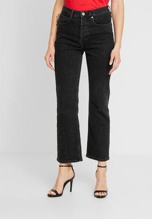 MARSTON ORIGINAL - Flared Jeans - black