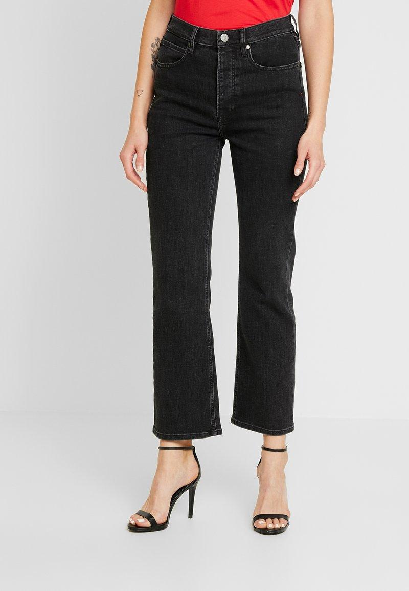 Tomorrow - MARSTON ORIGINAL - Flared Jeans - black