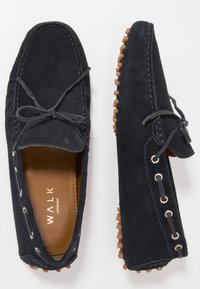 Walk London - RALLY DRIVER - Mocassini - navy - 1