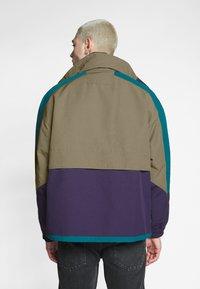 Lacoste LIVE - Light jacket - leafy/tanzanite pine - 2