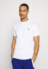 Lacoste Sport - TENNIS - T-shirt basic - white - 0