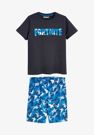 FORTNITE SHORT PYJAMAS - Pyjama bottoms - blue