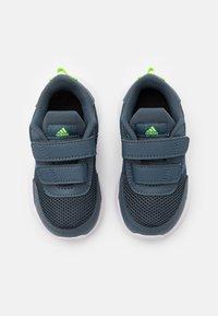 adidas Performance - TENSAUR RUN UNISEX - Neutral running shoes - legacy blue/team royal blue/signal green - 3