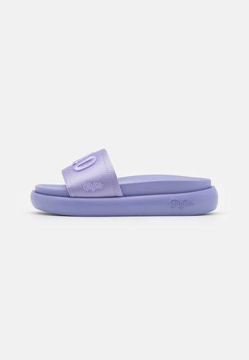 VEGAN REGGIE - Mules - purple
