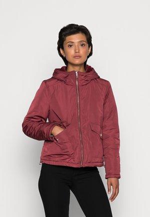 ONLDAHLIA JACKET  - Light jacket - bordeaux