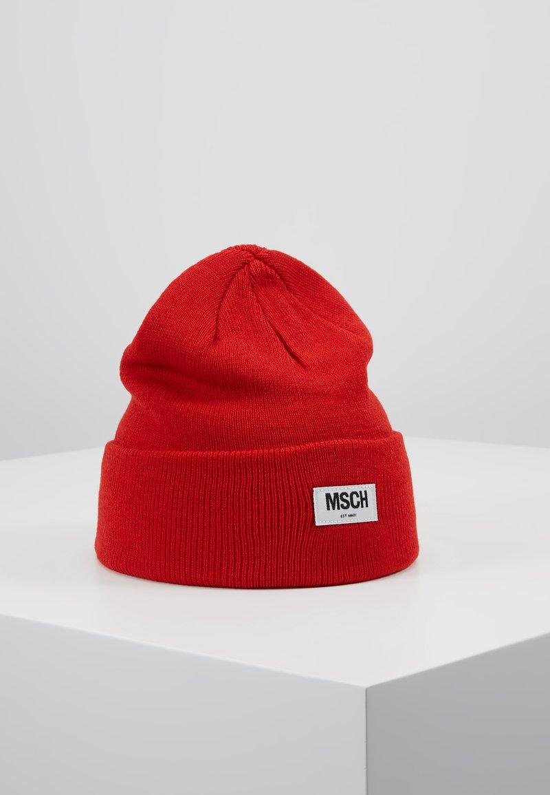 Moss Copenhagen - MOJO BEANIE - Beanie - fiery red