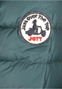JOTT - CLOE - Gewatteerde jas - bleu petrole - 3