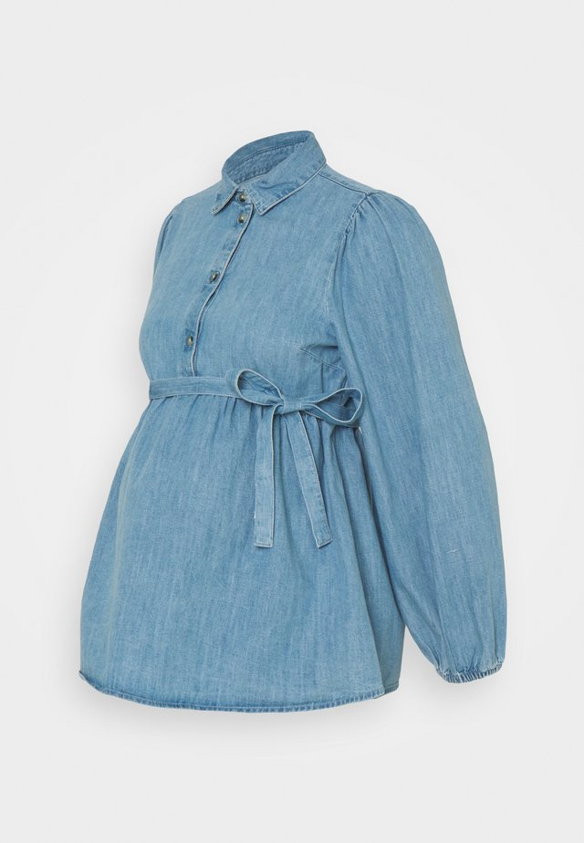 MLATHENS - Blouse - light blue denim