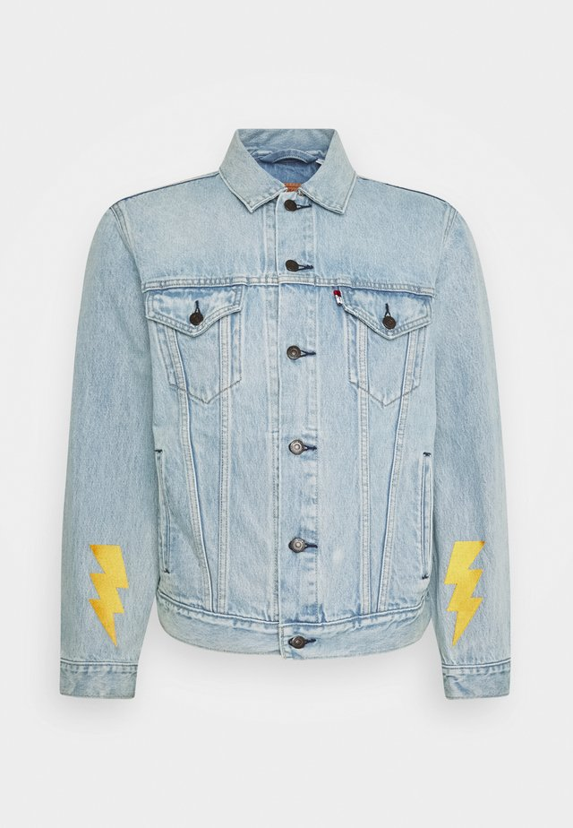 LEVI'S® X POKEMON VINTAGE FIT TRUCKER UNISEX - Veste en jean - light indigo