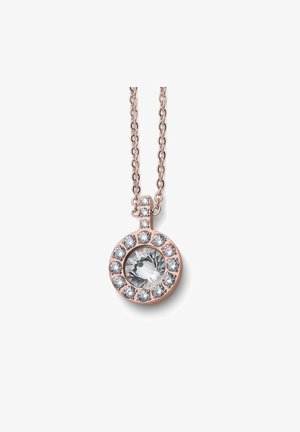 KETTE MIT ANHÄNGER YOU STE - Necklace - rosegold
