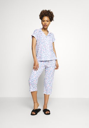 CLASSIC  - Pyjamas - white/blue