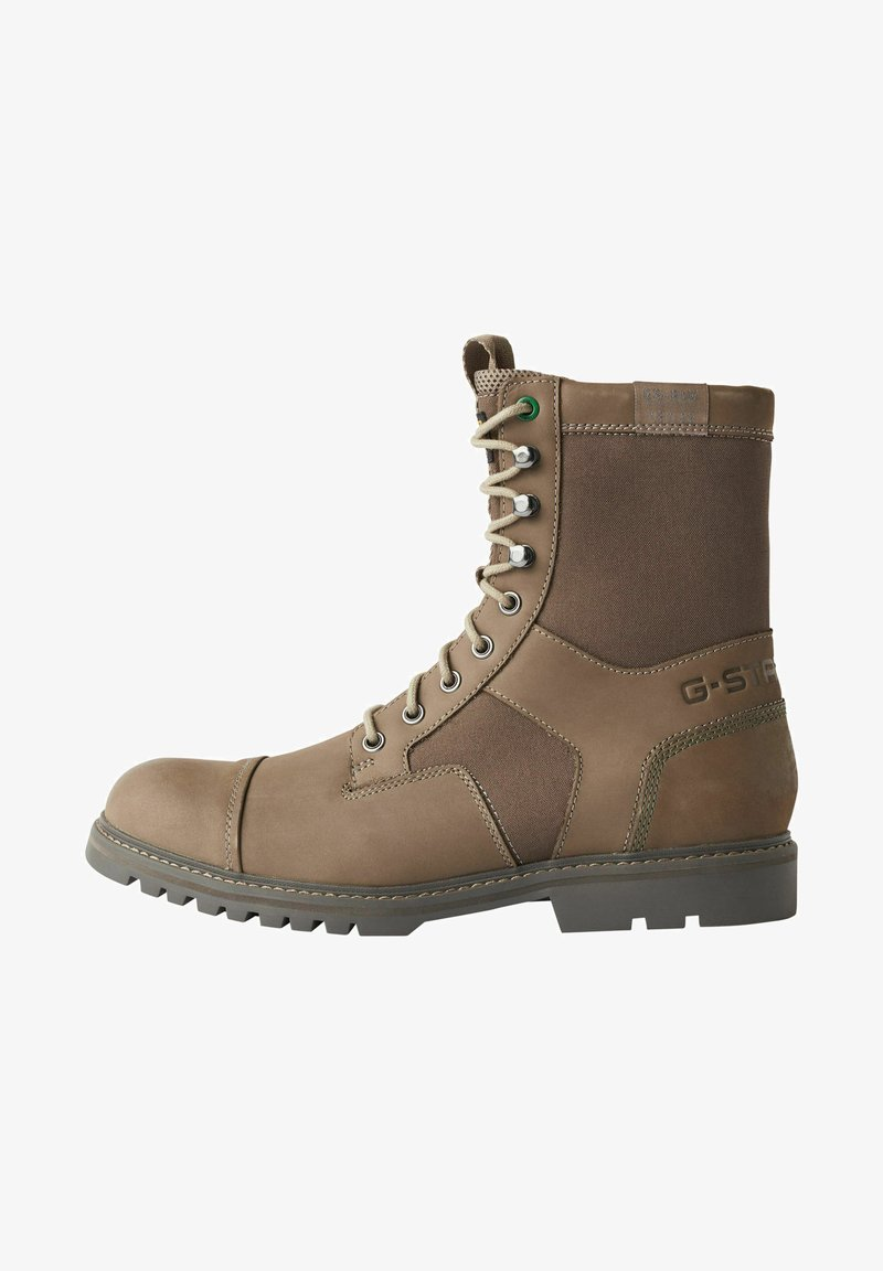 G-Star - TENDRIC - Lace-up boots - light brown