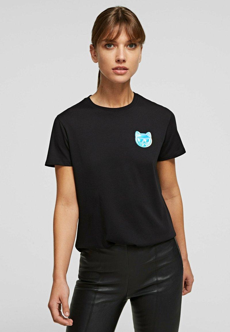 KARL LAGERFELD - T-Shirt basic - black
