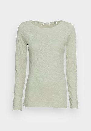 LONG SLEEVE BOAT NECK - Long sleeved top - washed spearmint