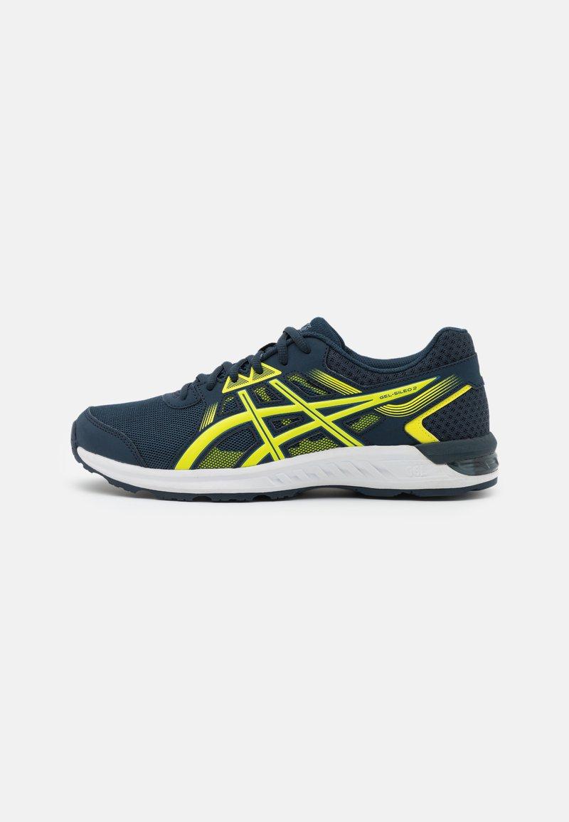 ASICS - GEL-SILEO 2 - Chaussures de running neutres - french blue/sour yuzu
