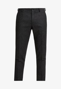 Viggo - ALTA TAPERED - Tygbyxor - charcoal - 3