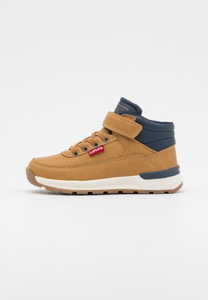 ASCOT MID - Baskets montantes - camel/navy