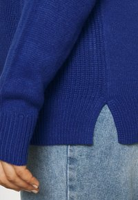 VILA CURVE - VILOU - Sweter - mazarine blue - 5