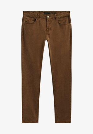 Slim fit jeans - ochre