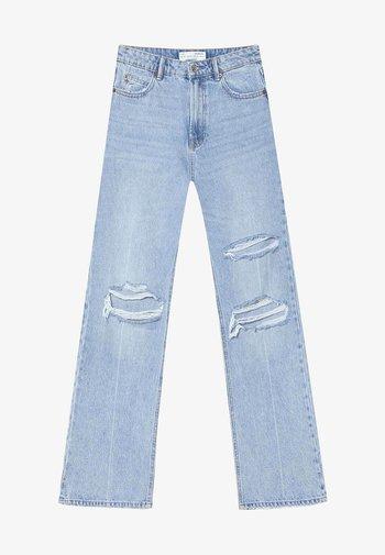 VINTAGE - Flared Jeans - light blue