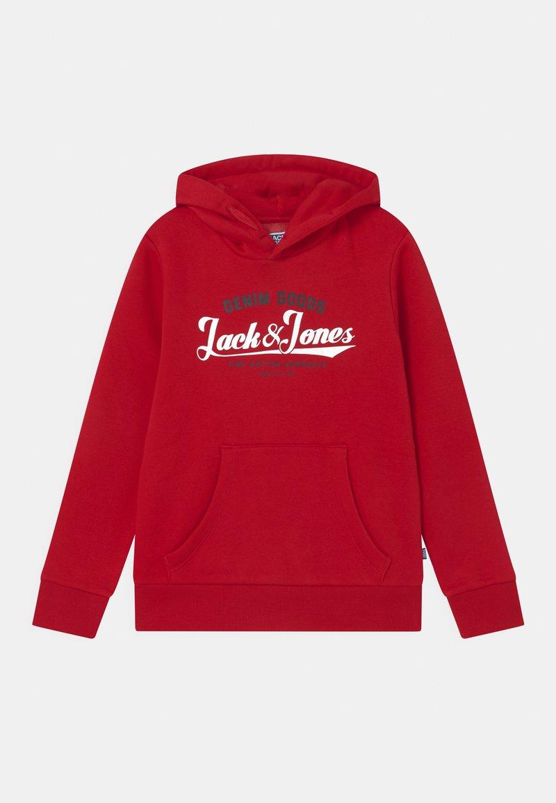 Jack & Jones Junior - JJELOGO - Hoodie - tango red