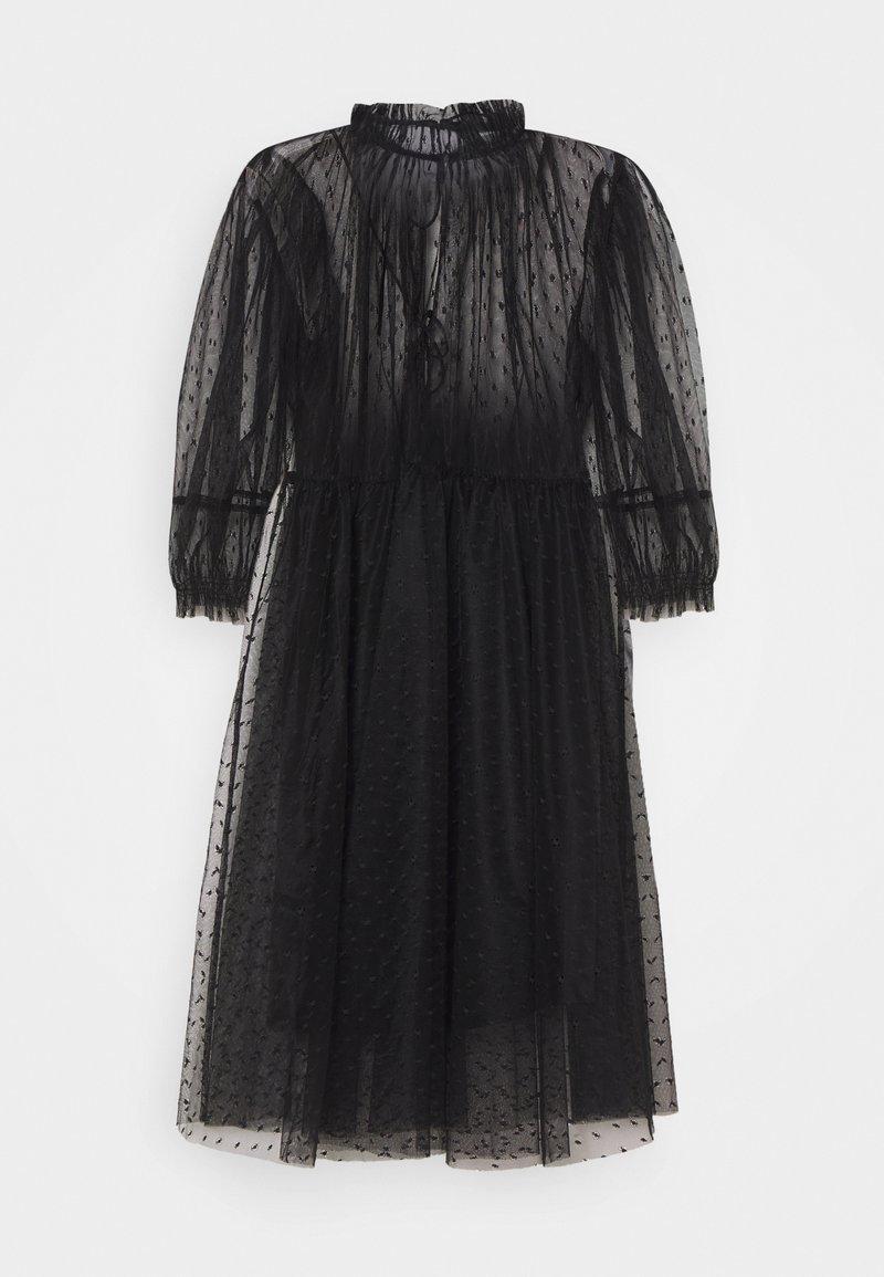 DESIGNERS REMIX - MIRA SHORT DRESS - Koktejlové šaty/ šaty na párty - black
