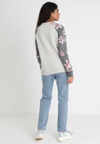 Roxy - Sweatshirt - charcoal heather flower field - 2