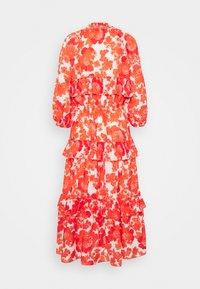Hofmann Copenhagen - BERENICE PRINT - Denní šaty - coral - 6