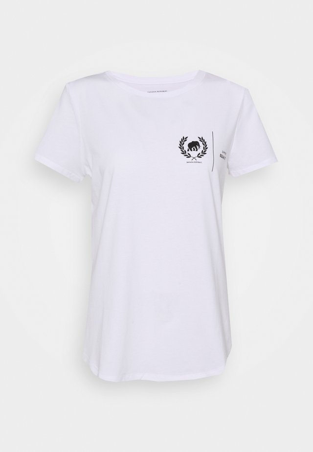 EQUALITY GRAPHIC - T-shirt con stampa - white