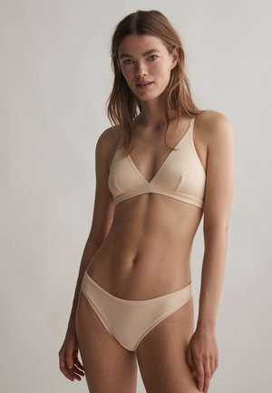 Briefs - nude