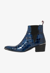 Jeffery West - SYLVIAN - Biker-/cowboynilkkurit - dark blue - 0