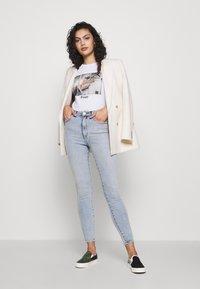 Abrand Jeans - HIGH ANKLE BASHER - Jeans Skinny Fit - light-blue denim - 1