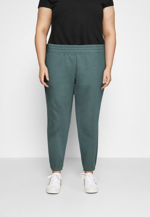 PANT TREND PLUS - Tracksuit bottoms - hasta/white