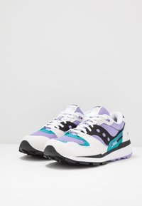 Saucony - AZURA - Sneakers laag - white/voilet/capri - 2