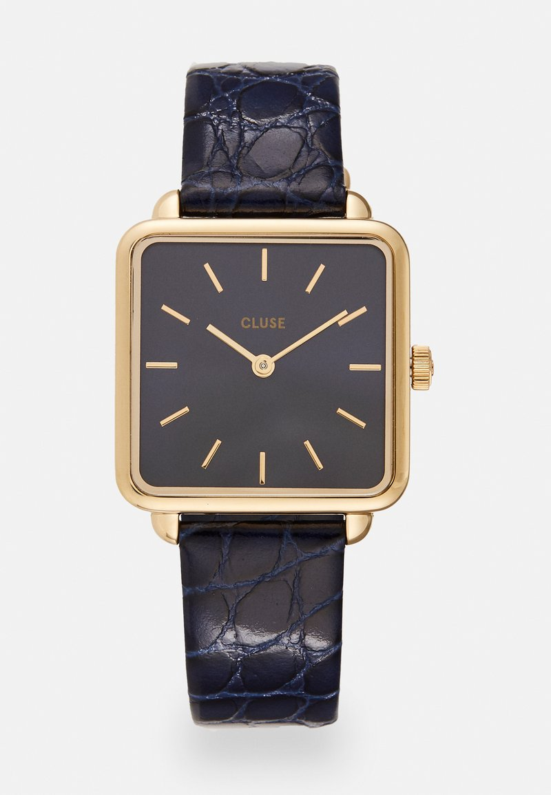 Cluse - LA TETRAGONE - Watch - gold-coloured/blue