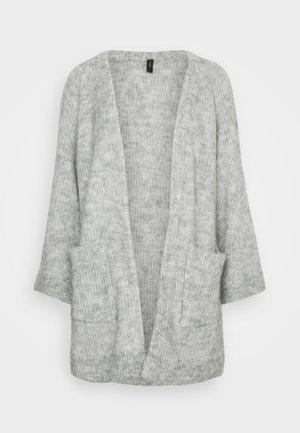 YASALVA LONG CARDIGAN PETITE - Chaqueta de punto - light grey