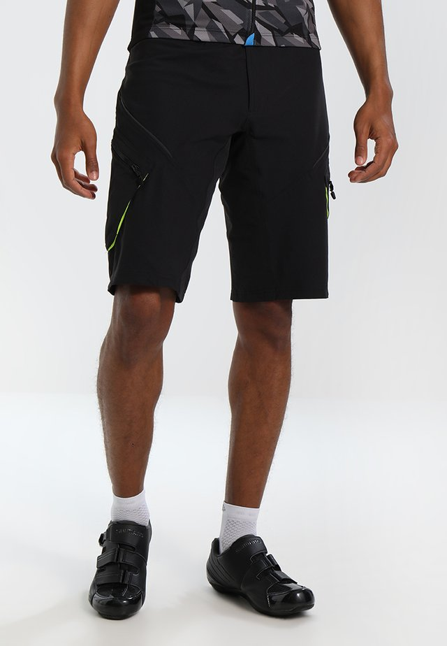 TRAIL SHORTS - Sports shorts - black