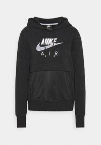 Nike Sportswear - AIR  - Hoodie - black/white - 6