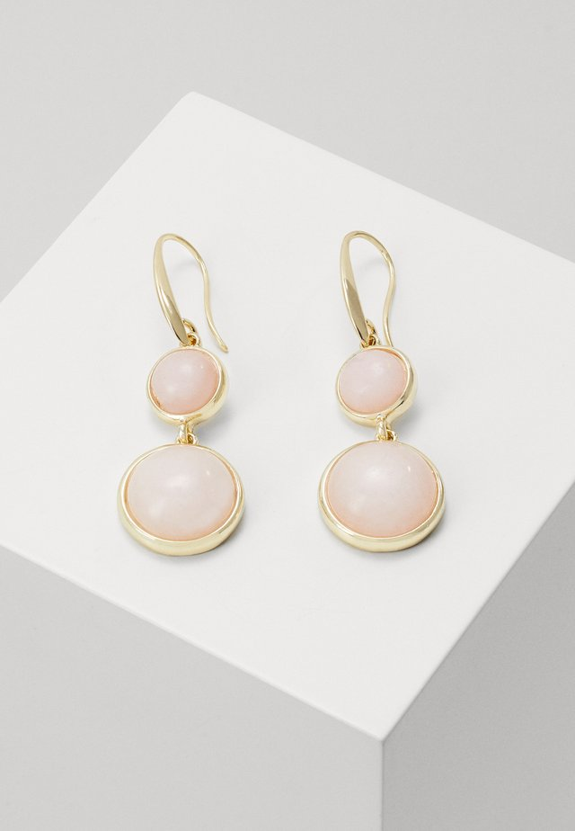 AGATHA PENDANT EAR - Korvakorut - gold-coloured/pink