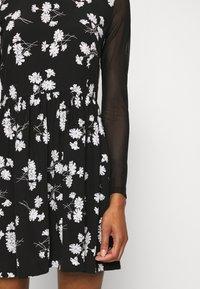 Calvin Klein Jeans - FLORAL DRESS - Day dress - black - 8