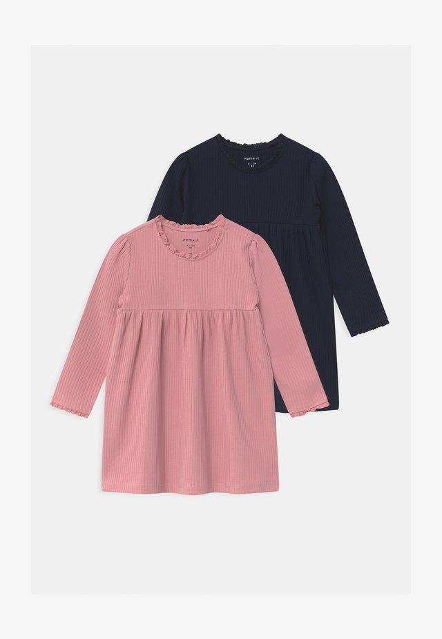 NBFSINE 2 PACK - Jersey dress - blush