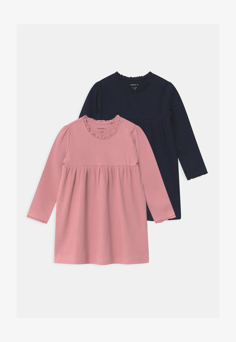 Name it - NBFSINE 2 PACK - Jersey dress - blush
