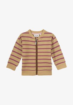 Sweater met rits - beige