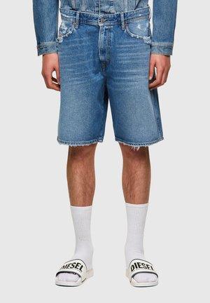 D-WILLOH-X - Shorts di jeans - light blue