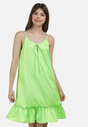 Day dress - neon grün