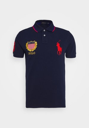 BASIC - Koszulka polo - cruise navy