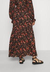 Free People - SECRET GARDEN SET - Maxi skirt - black - 2