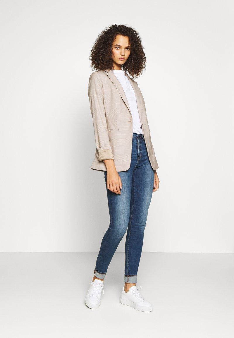 New Look Tall - ORGANIC TEE 2 PACK - Jednoduché triko - black/white