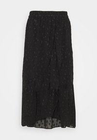 PIECES Tall - PCPERSILLA MIDI SKIRT - A-line skirt - black - 0