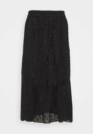 PCPERSILLA MIDI SKIRT - A-line skirt - black